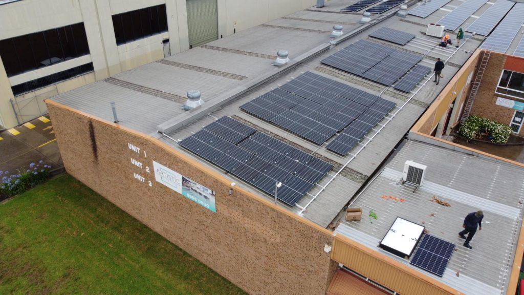 installing energy solar panels